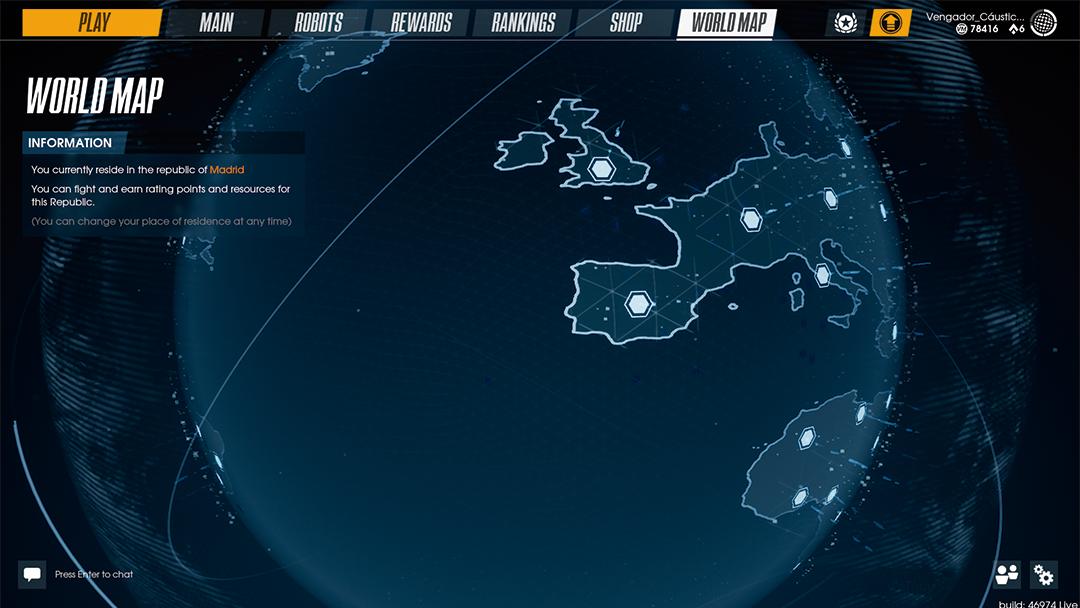 CityBattle | Virtual Earth (EU): Interface and Menu Guide
