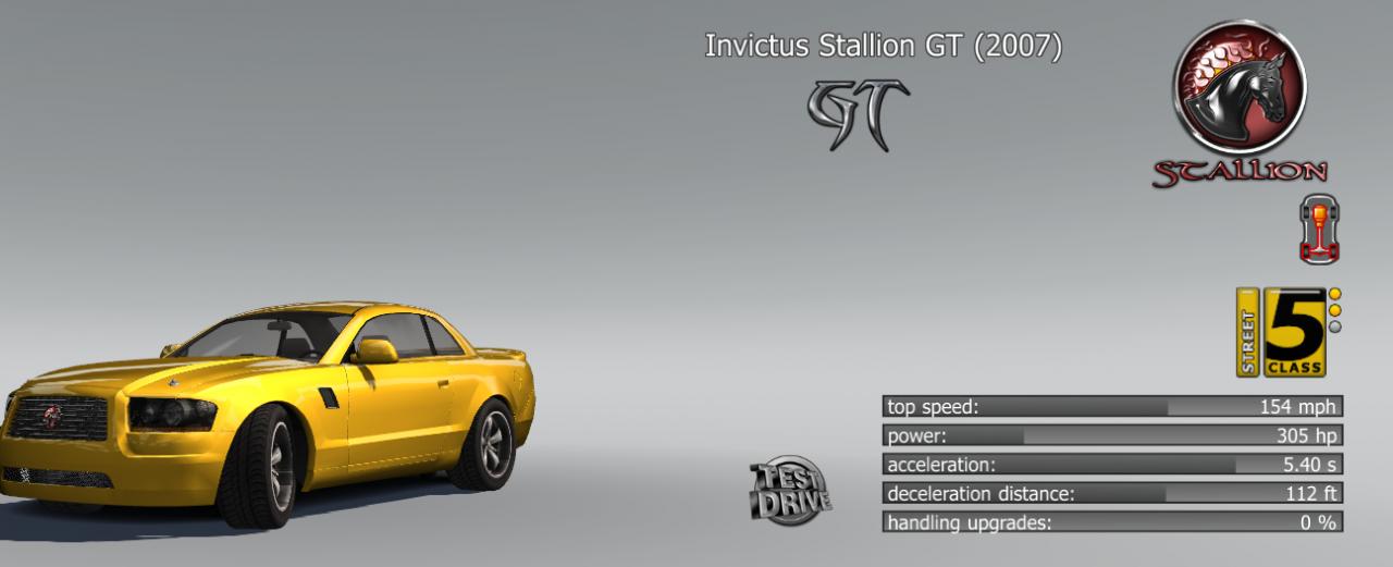 Project Torque: Full Car Lists