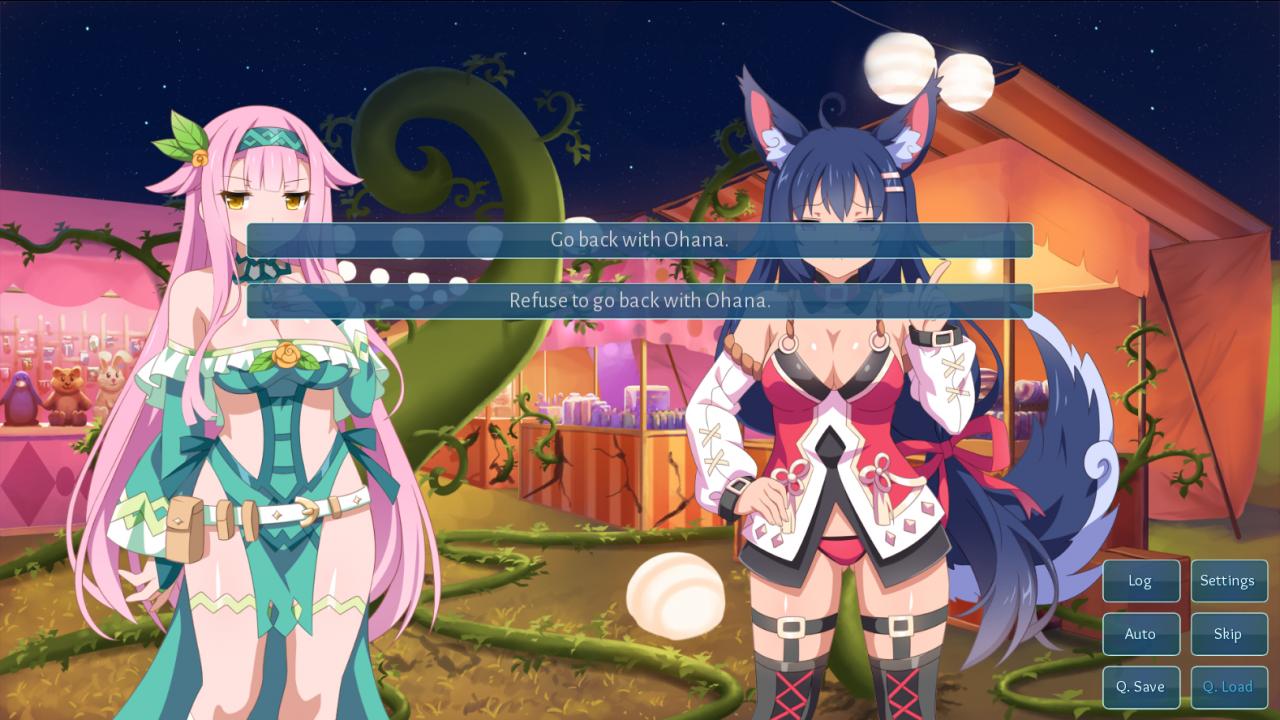 Sakura Fox Adventure: All Endings