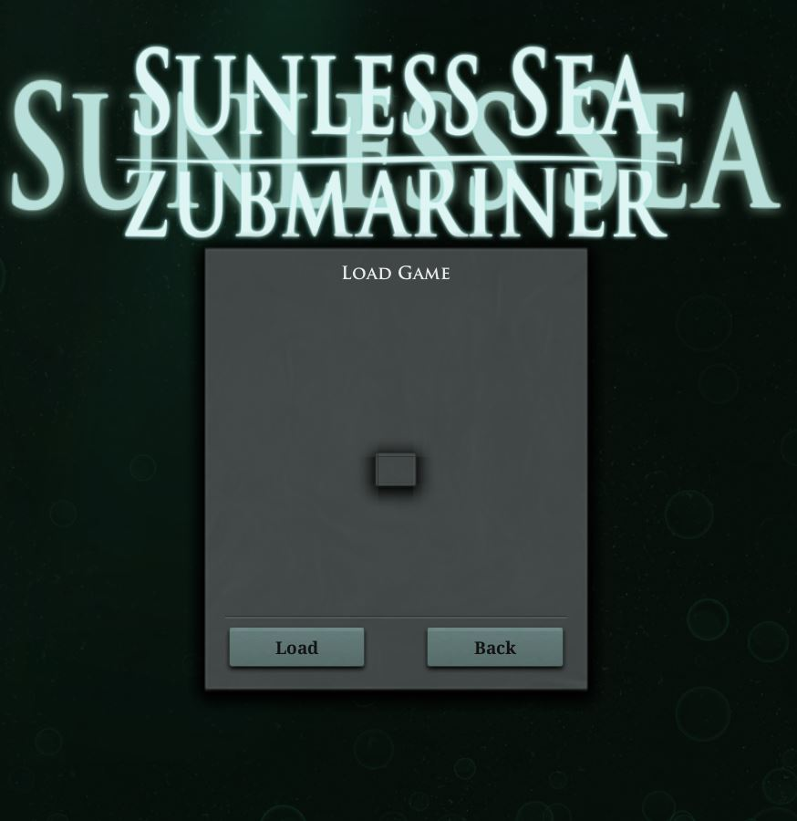 Sunless Sea: Troubleshooting Guide