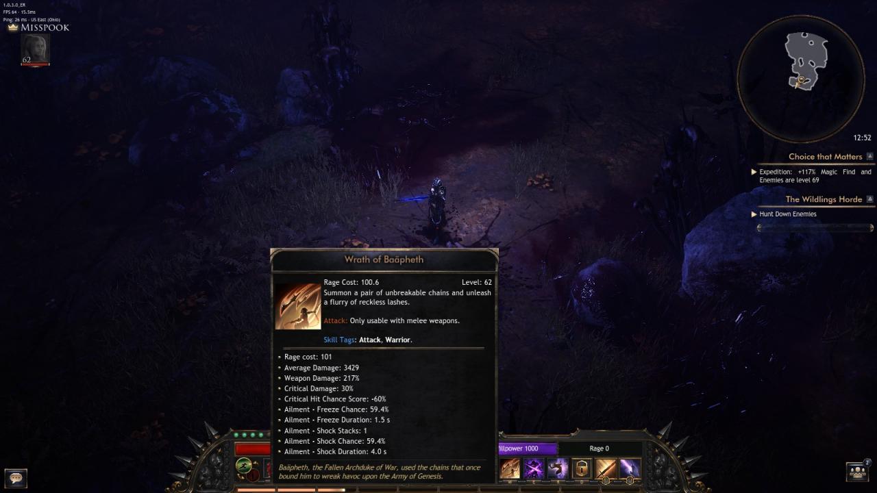 Wolcen: Lords of Mayhem - Abyssal Weaver Build