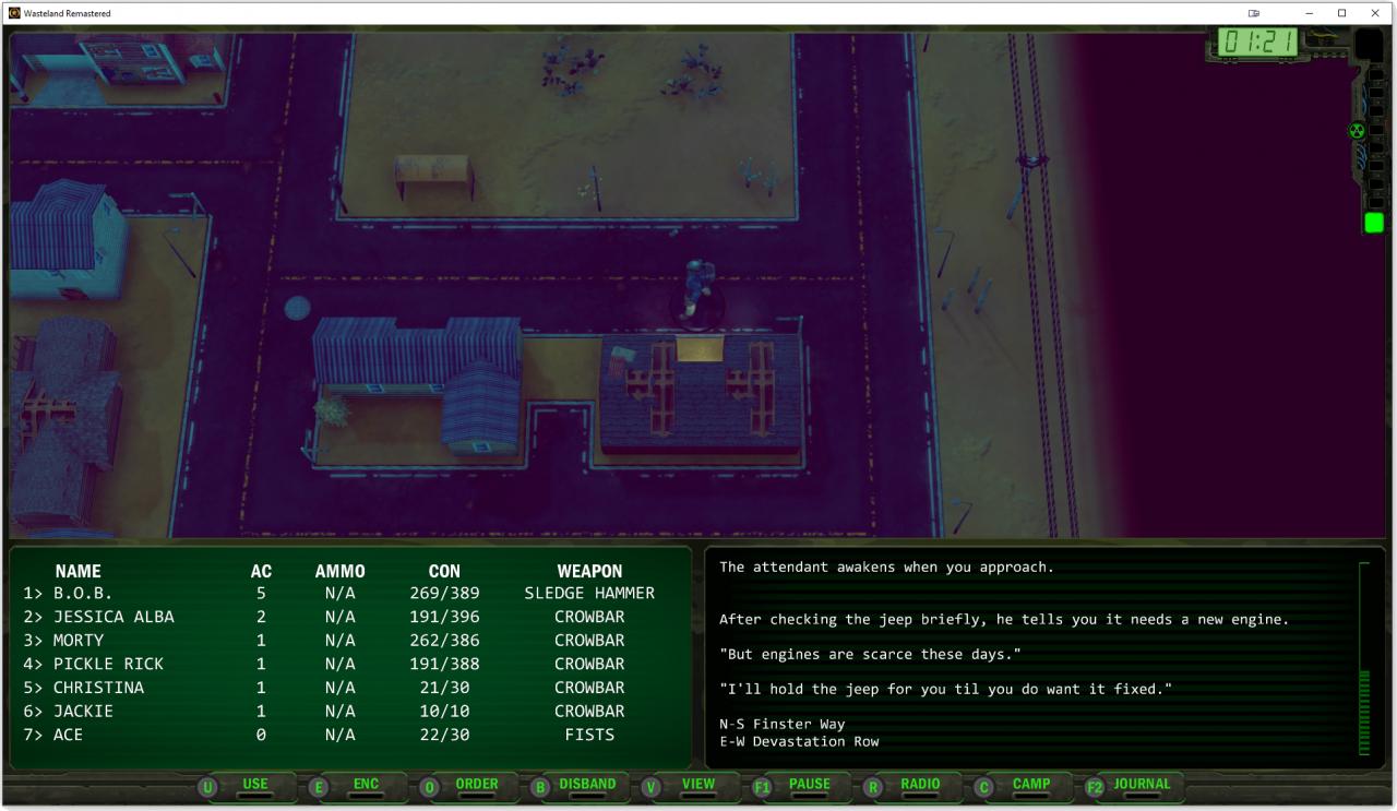 Wasteland Remastered: Secrets & Exploits Guide