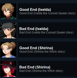 Our Journeys 2 ~ A Collection of Visual Novels: Endings and Achievements Guide