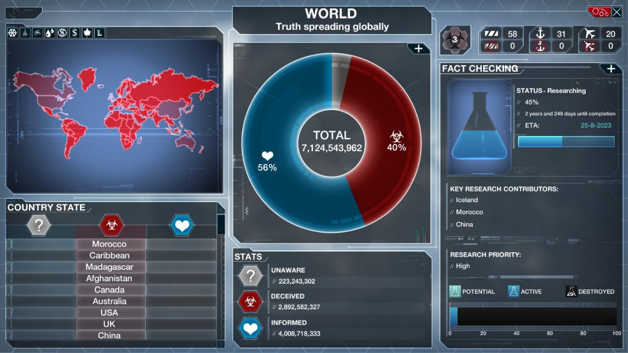 Plague Inc: Evolved - On the Fence Achievement Guide