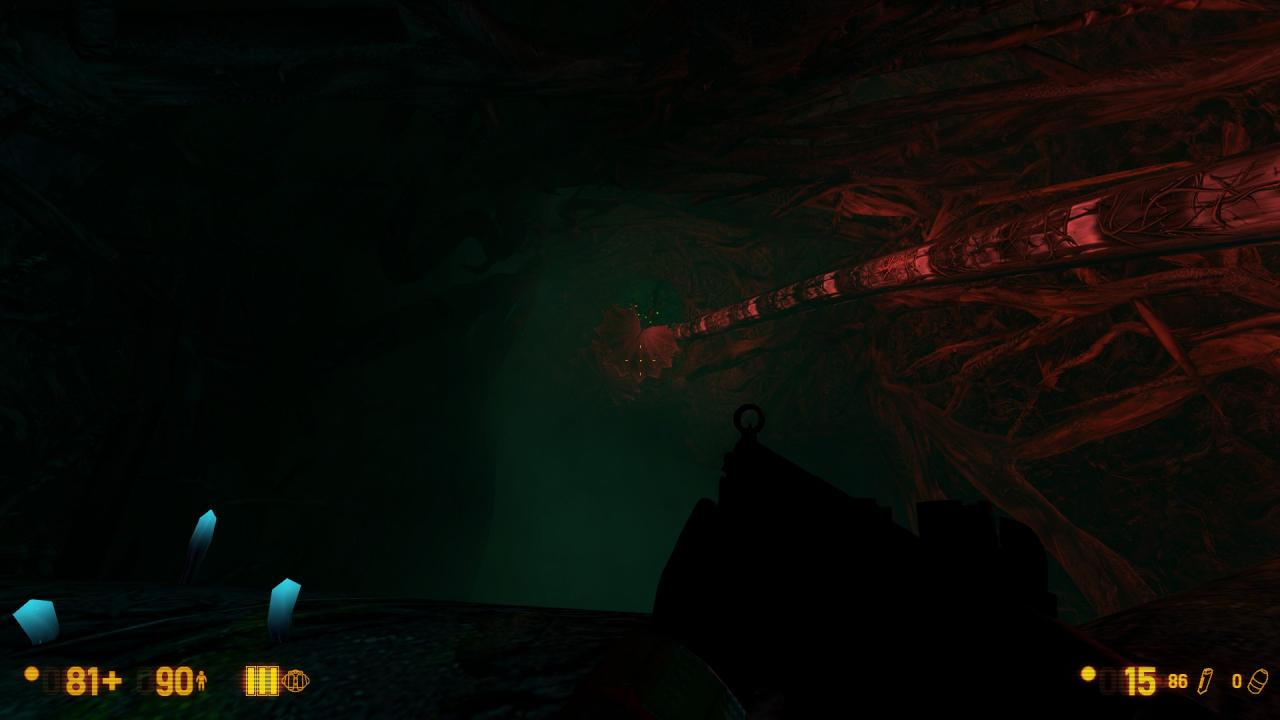 Black Mesa: How to go Past the One-way Abyss Fall With Multiple Achievement Props