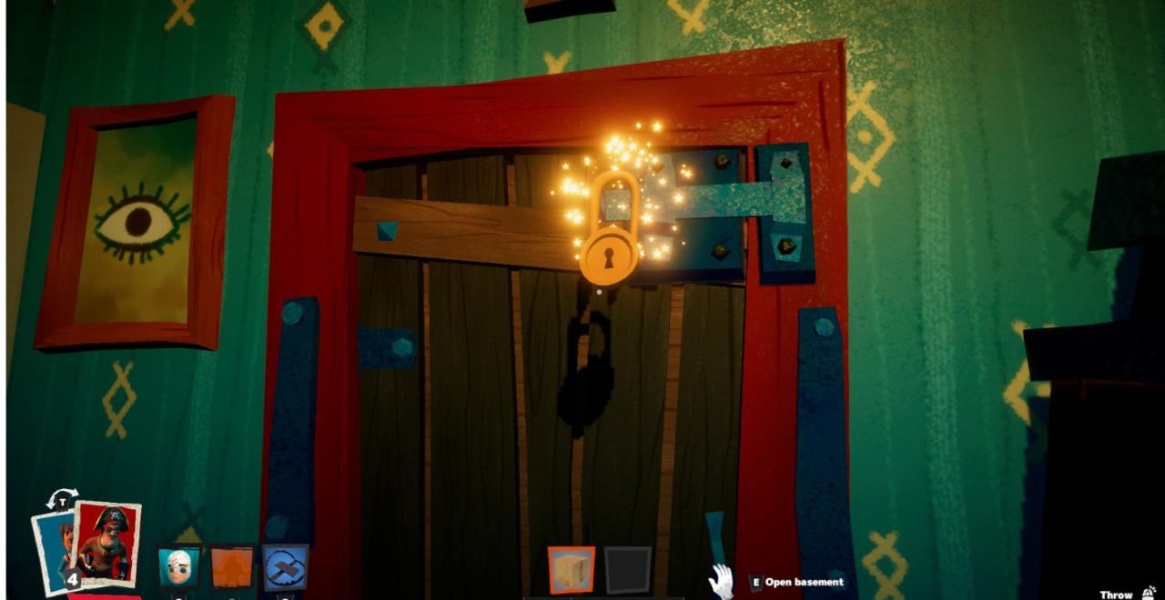 Secret Neighbor: How to Unlock You shall not pass! Achievement
