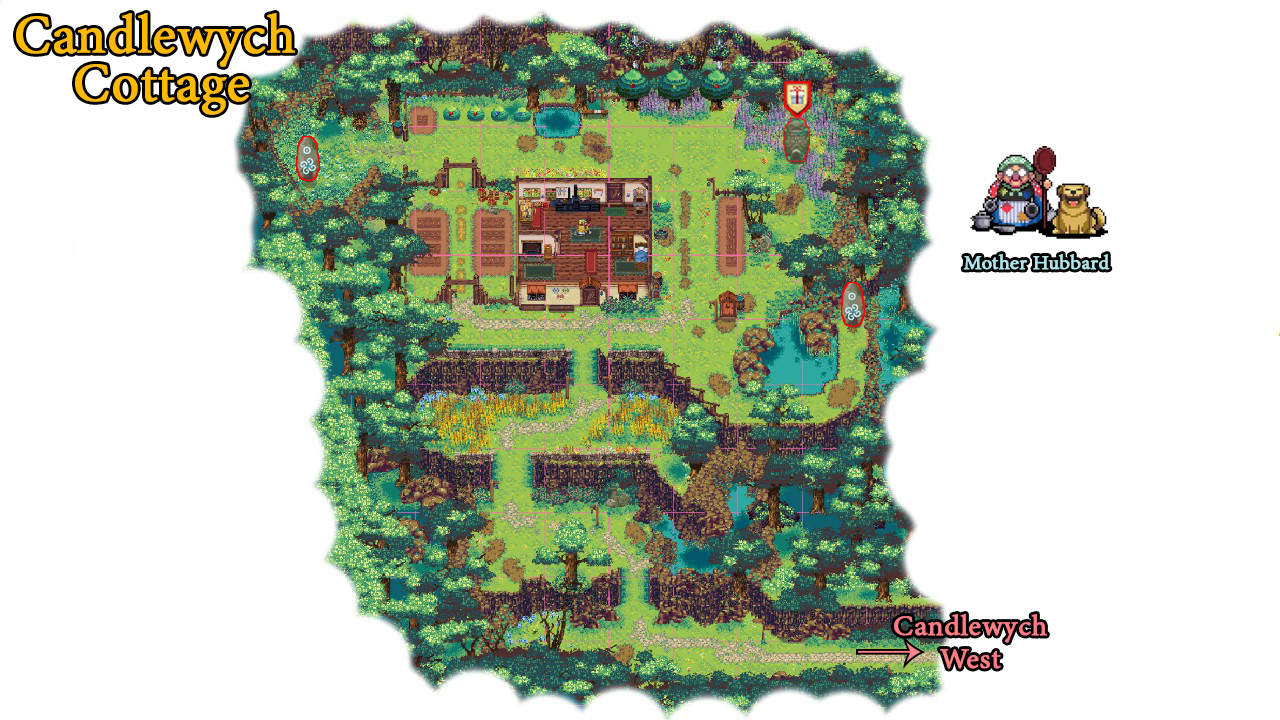 Kynseed: South Maps Guide