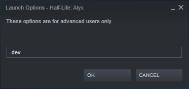 Half-Life Alyx: How to Open the in-game Developer Menu