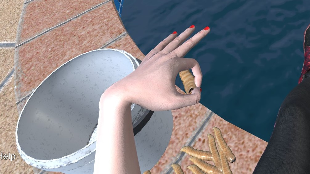 Hand Simulator: How to Fish (Step-By-Step)