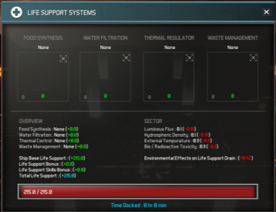 Astrox Imperium: Life Support Guide