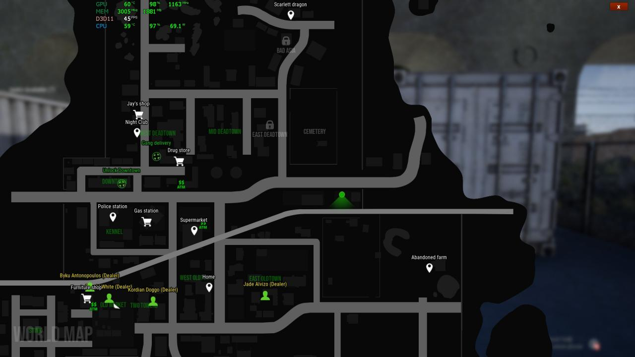 Drug Dealer Simulator: How to Easily Move Huge Amount of Drugs Between Sectors