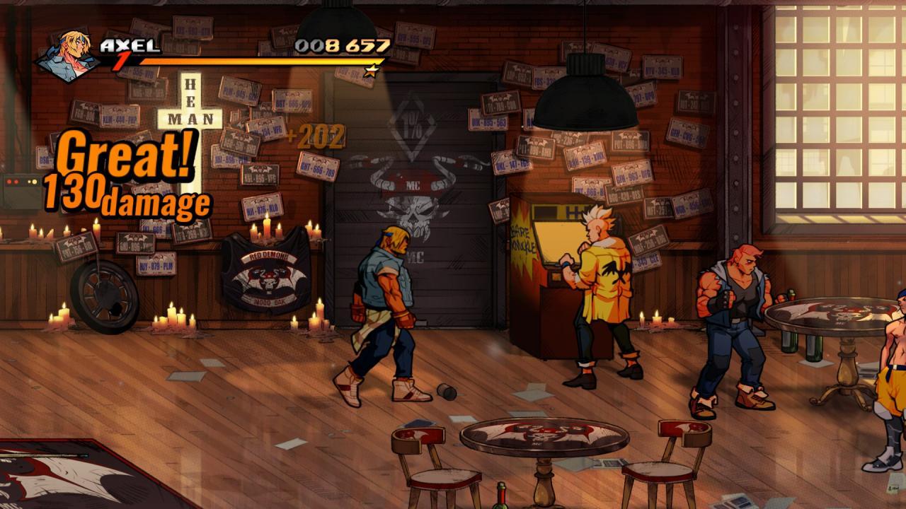 Streets of Rage 4: Easter Egg Levels & Bosses