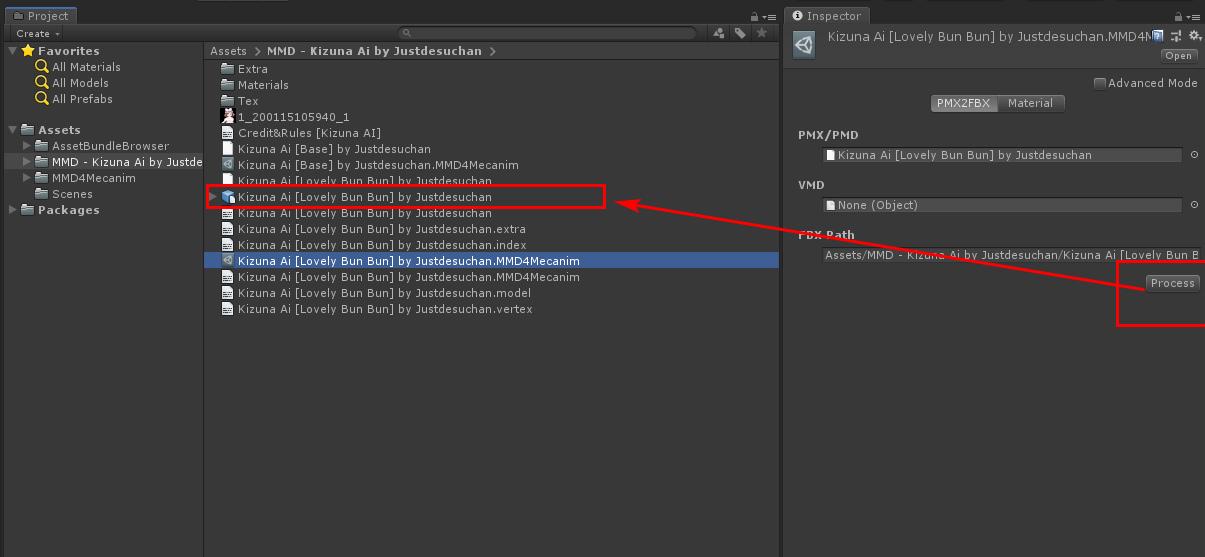 DesktopMMD: How to import MMD Model