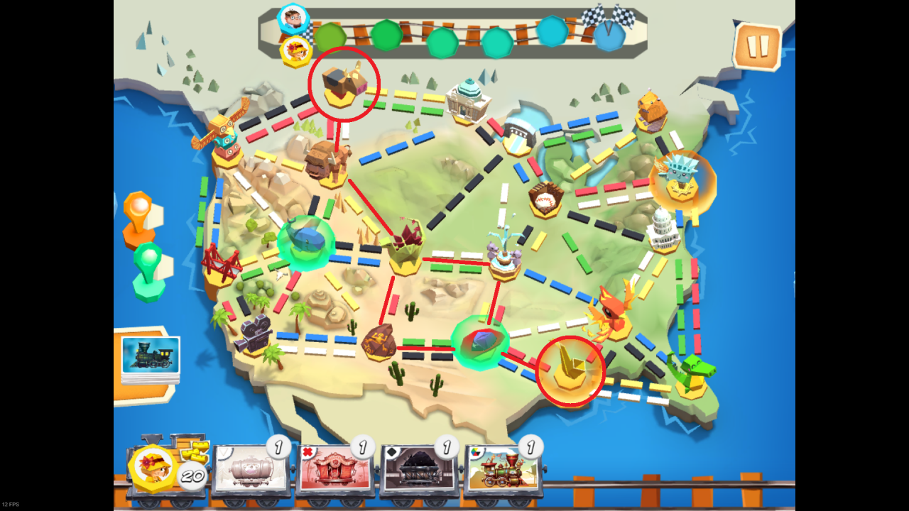 Ticket to Ride: First Journey 100% Achievement Guide