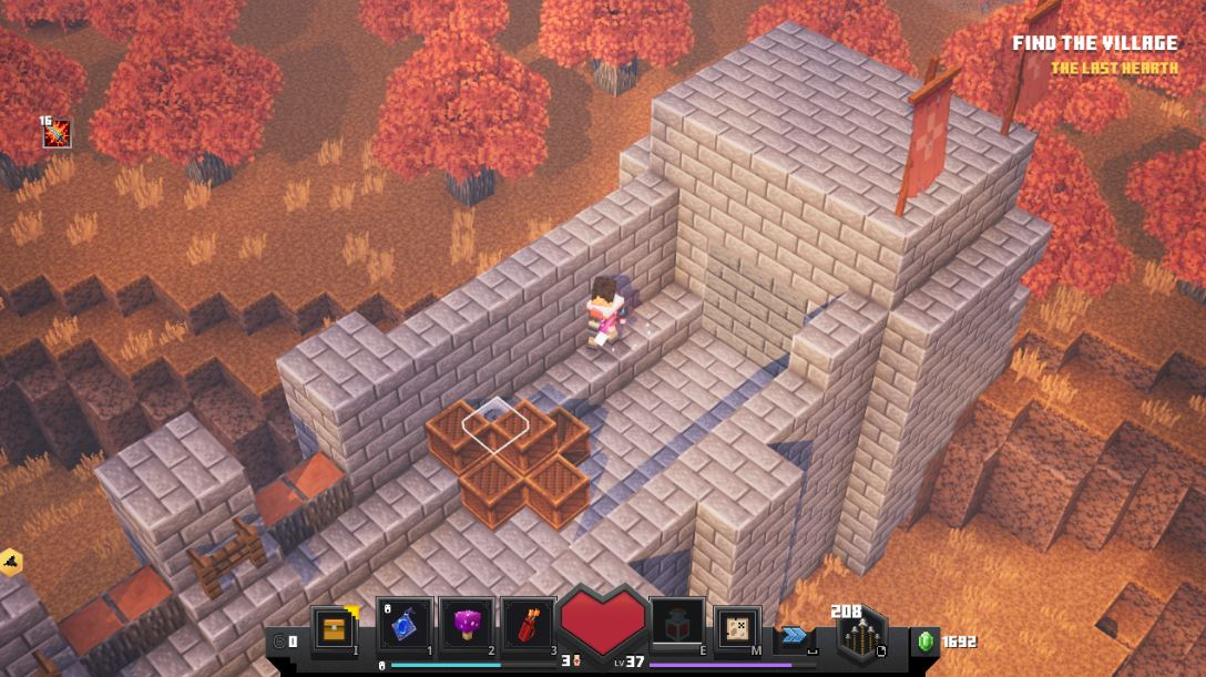 Minecraft Dungeons Pumpkin Pastures All Secret Level, Chests And Rune Location