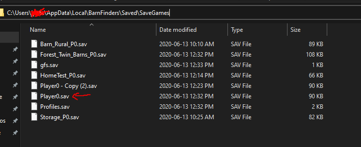 BarnFinders Save File Location How to Editing for Money and Other Items