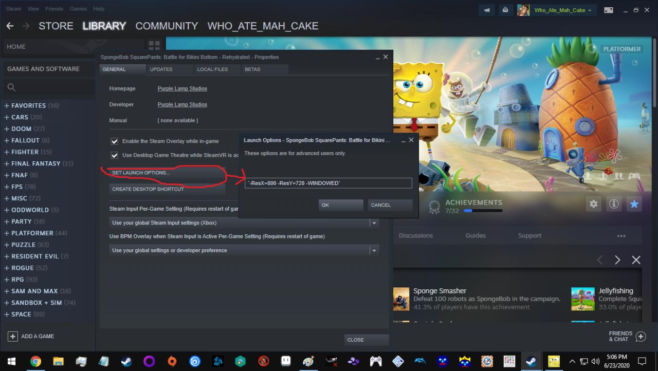 SpongeBob SquarePants How to Set Custom Resolutions Guide