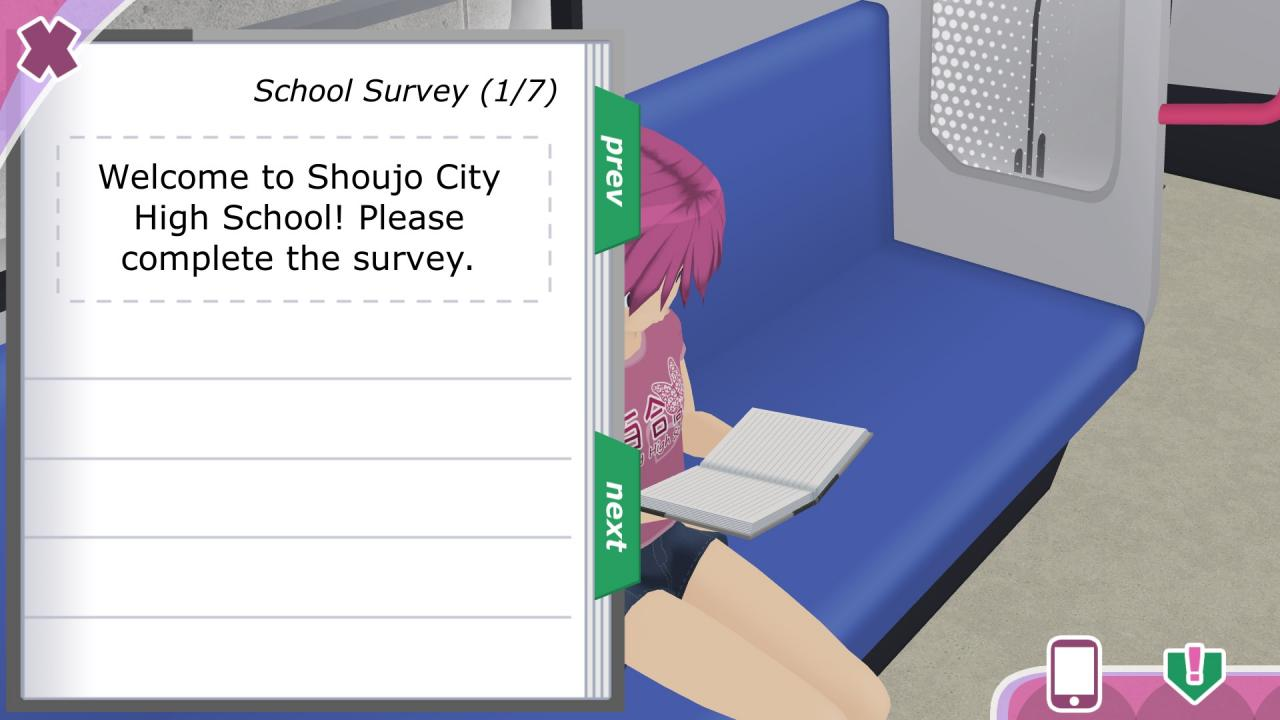 Shoujo City School Survey Guide (Skill Points)