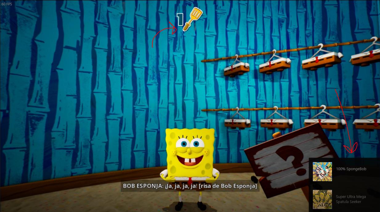 SpongeBob SquarePants How to Fix Achievements Bug (Socks, Spatulas)