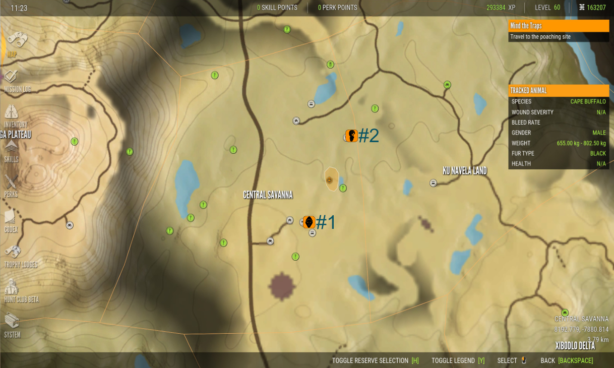 theHunter: Call of the Wild All Vurhonga Artifact Locations