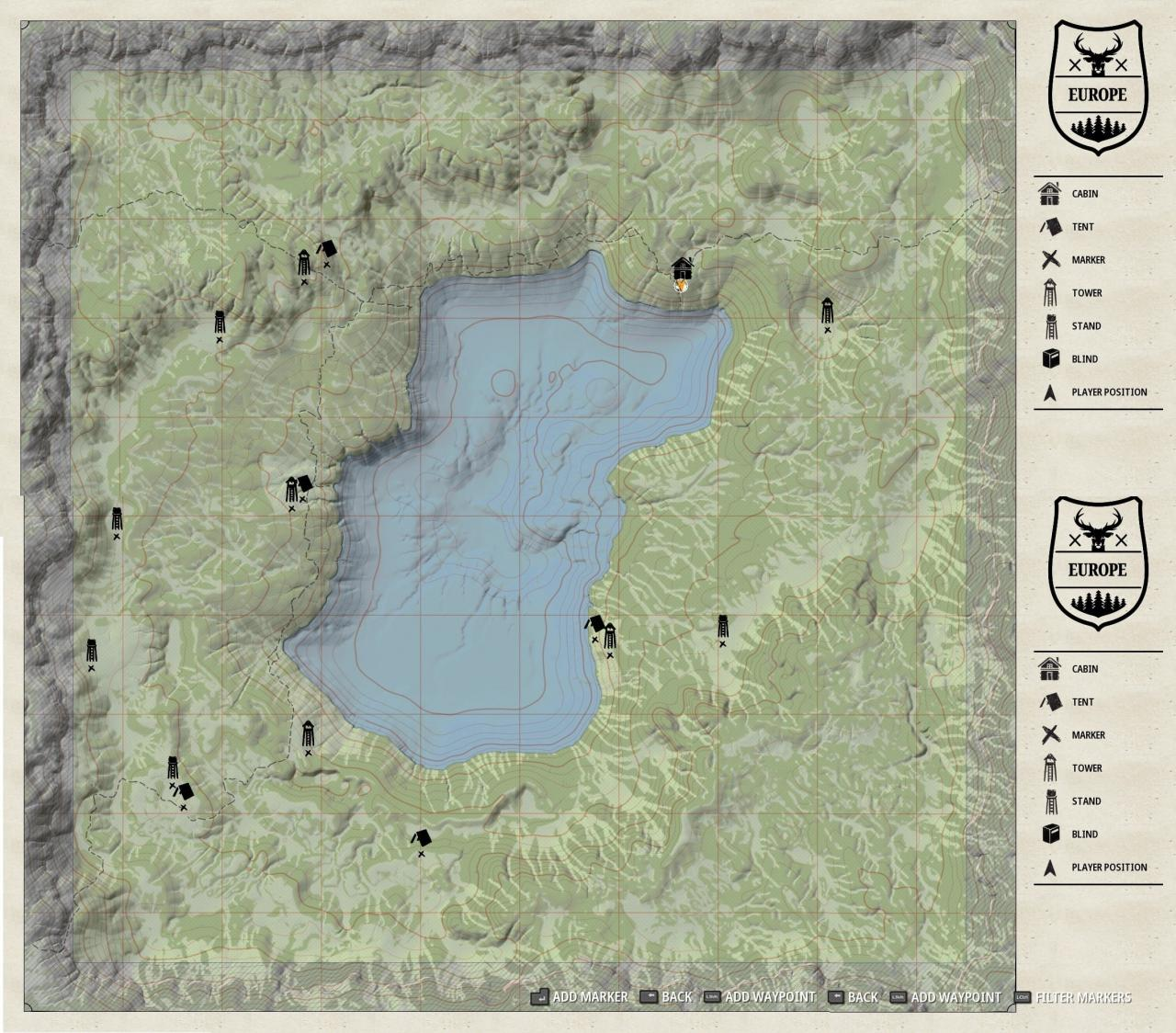 Hunting Simulator 2 Points of Interest Guide (Colorado, Texas, Europe)