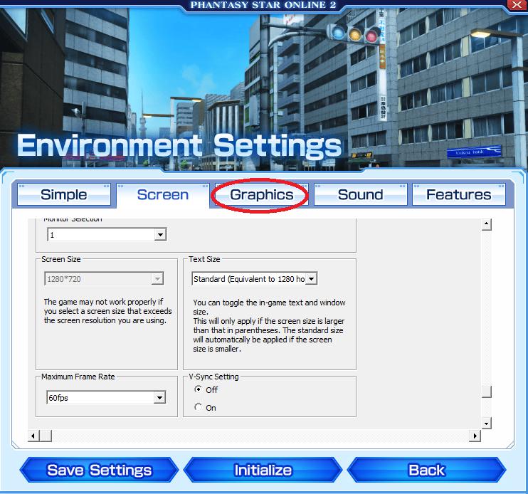 Phantasy Star Online 2 Optimization Settings (Improve Performance)