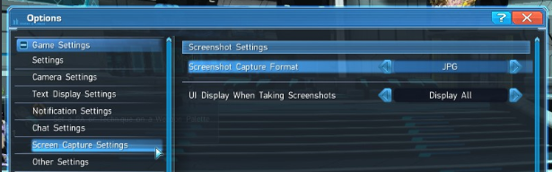 Phantasy Star Online 2 Screenshot Location & Controls