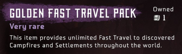 Horizon Zero Dawn How to Get Golden Fast Travel Pack (Unlimited Fast Travel)