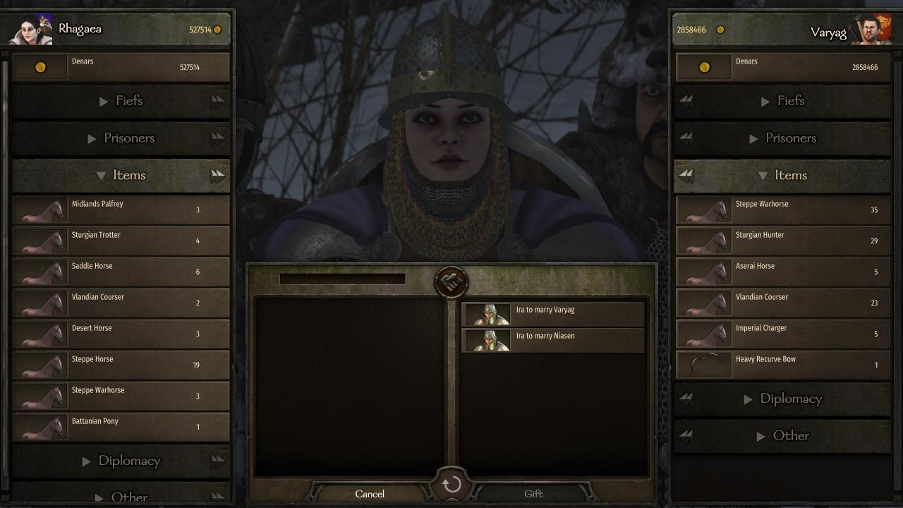 Mount & Blade II: Bannerlord How to Solve the Brother Marriage Glitch