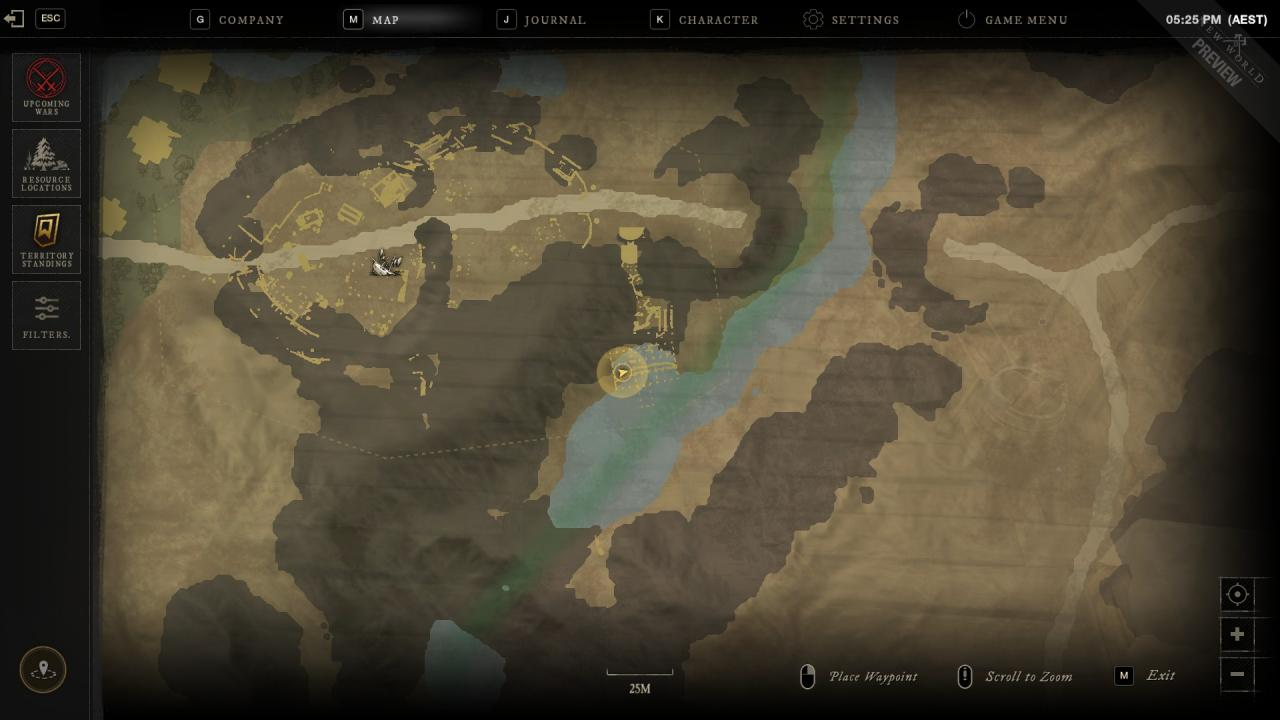 New World Preview How to Find Master Henry