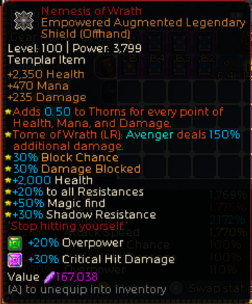Chronicon Thundercharged Avenger Build