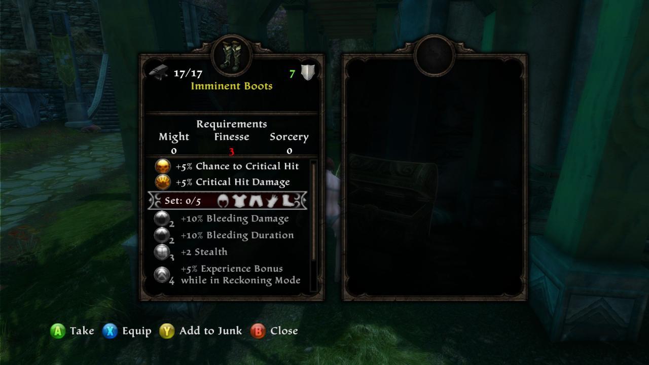 Kingdoms of Amalur: Re-Reckoning Special Delivery Bonus Items List