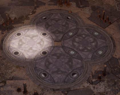 Baldur's Gate 3 Puzzle Guide - Defiled Temple Moon Circle