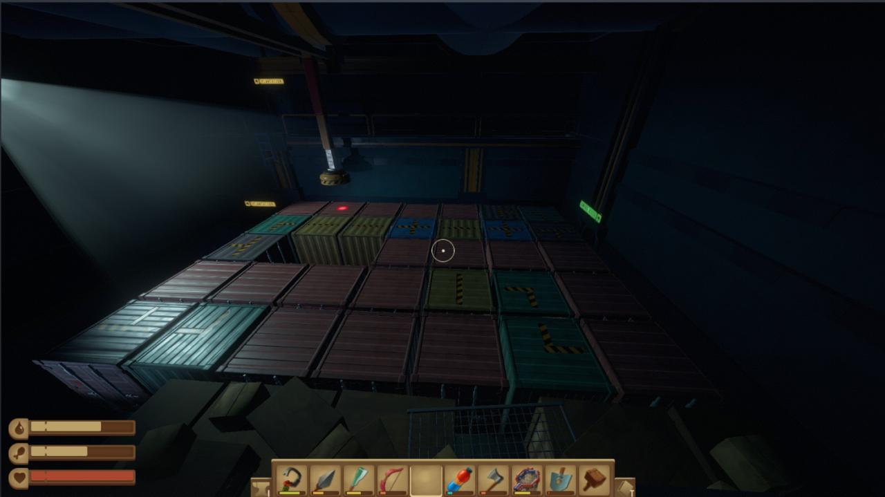 Raft Tangaroa Puzzle Guide (Container Puzzle)