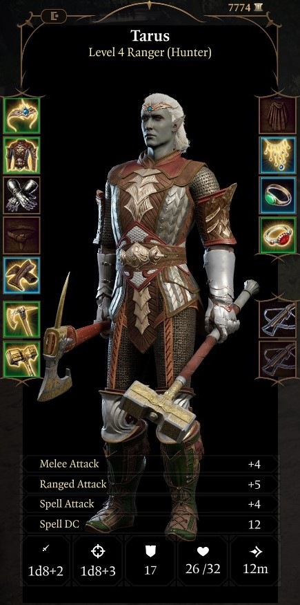 Baldur's Gate 3 The Frontline Ranger Build