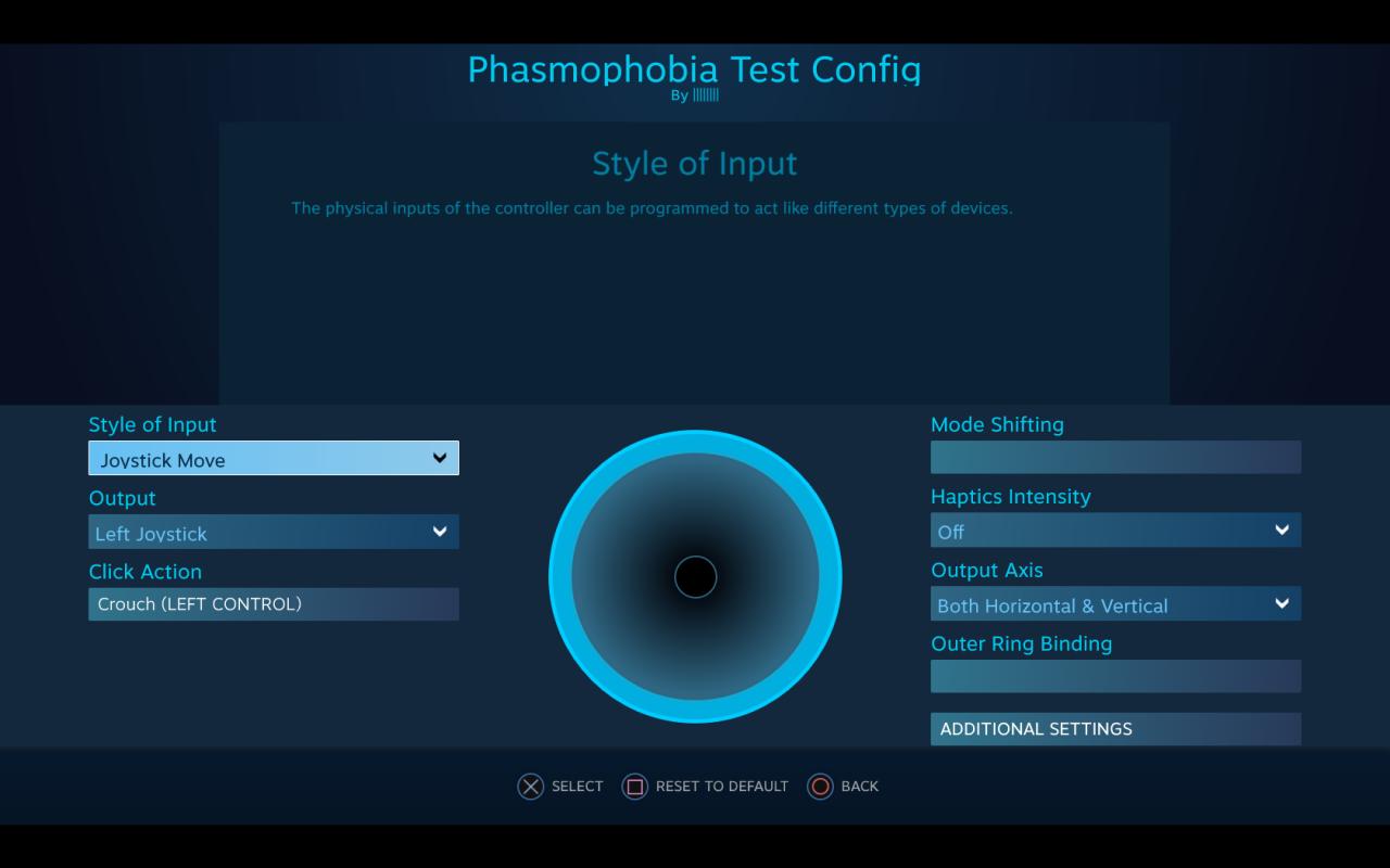 Phasmophobia PS4/XB Controller Setup
