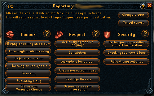 RuneScape How to Recognise Bots