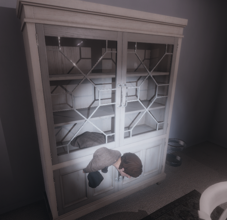 Phasmophobia Cupboard & Table Glitch (with Doors)