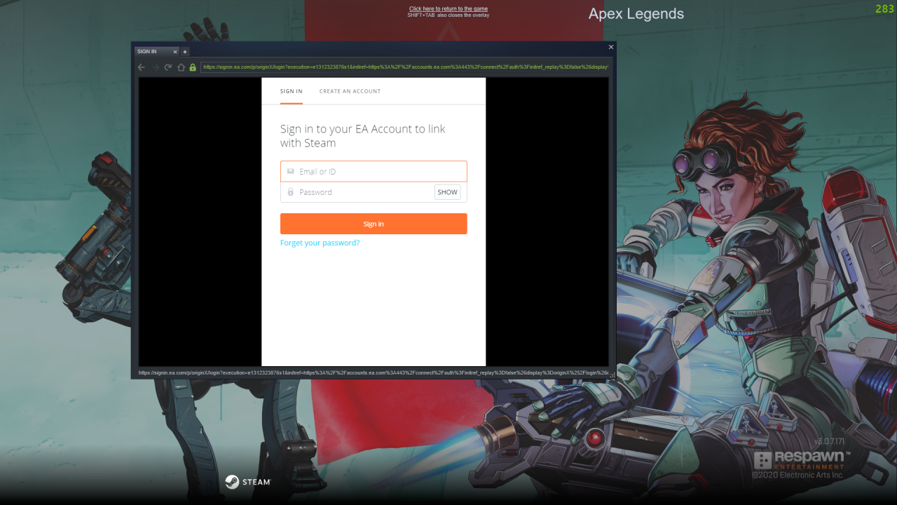 Apex Legends How to Transfer Your Progress from Origin to Steam