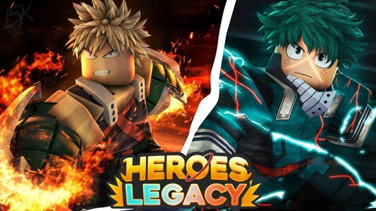 Roblox Heroes Legacy Redeem Codes (November 2020)