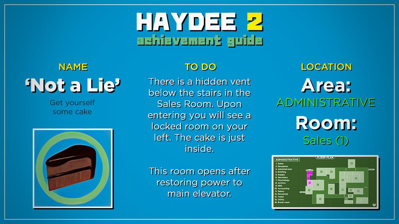 Haydee 2 100% Achievement Guide