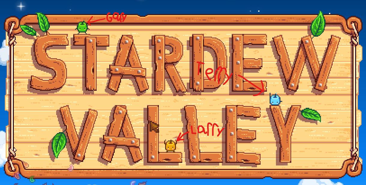 Stardew Valley Main Menu Secrets Guide