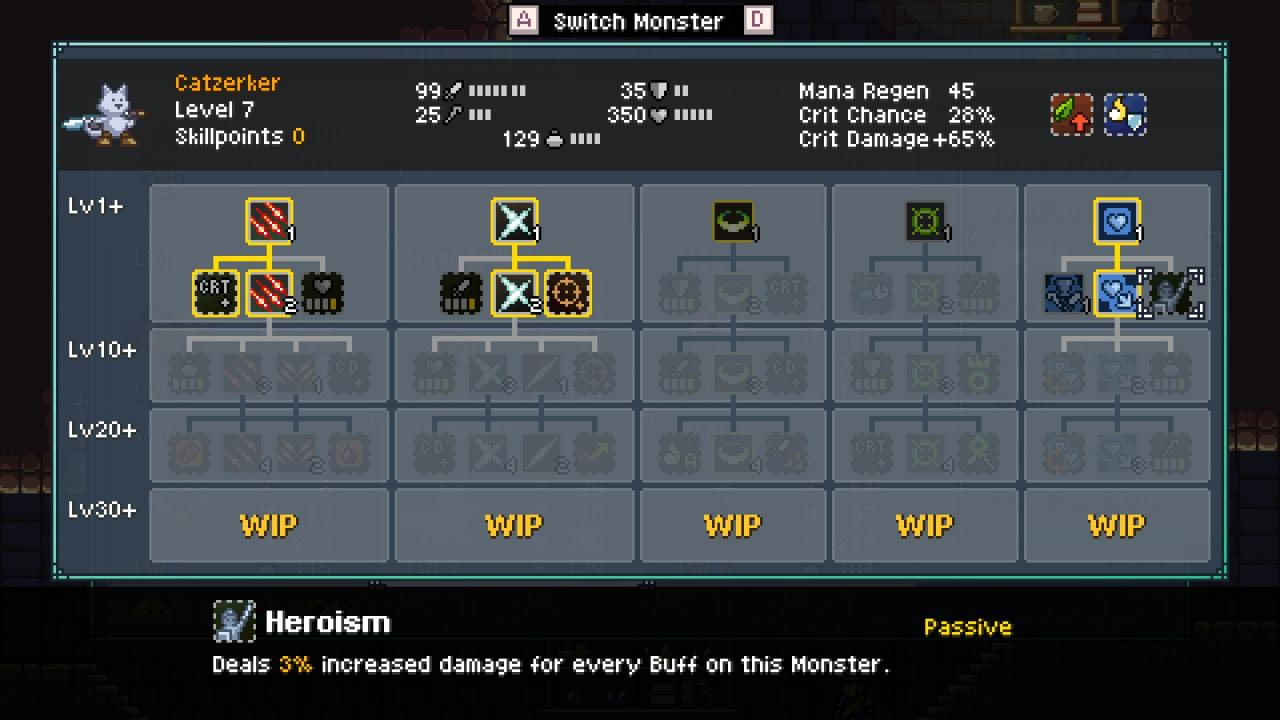 Monster Sanctuary Beginner Tips and Detailed Explanation