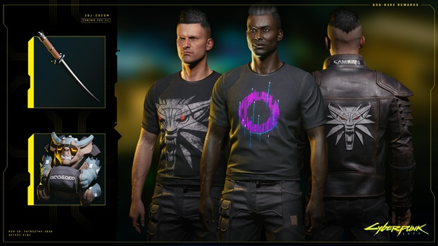 Cyberpunk 2077 All Exclusive Dgital Items
