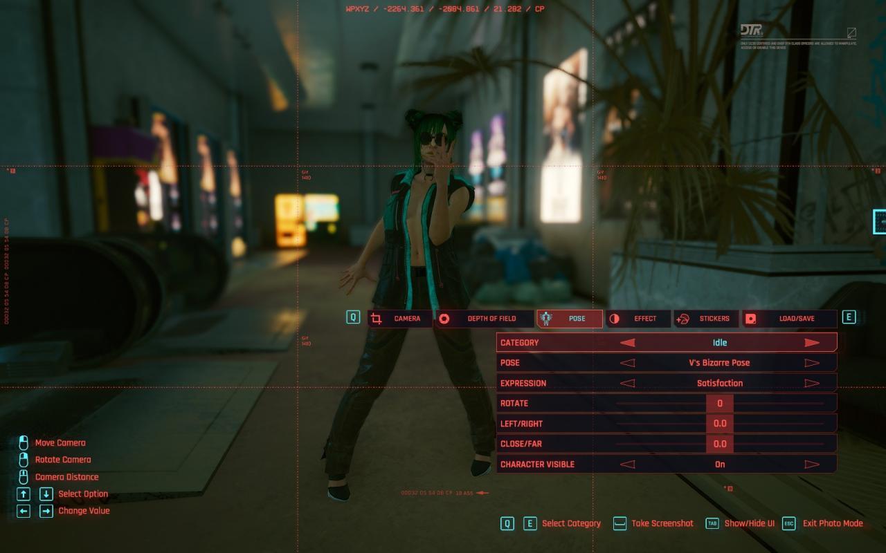 Cyberpunk 2077 Photo Mode Quick Guide