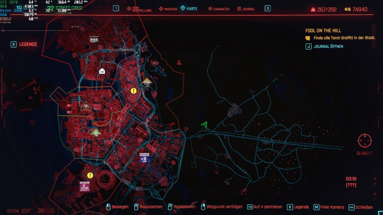 Cyberpunk 2077 Free Rayfield Caliburn Hypercar Location