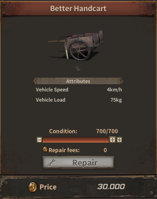 Dust to the End Vehicle Guide