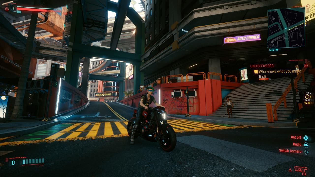 Cyberpunk 2077 How to Obtain Jackie's Bike and Guns
