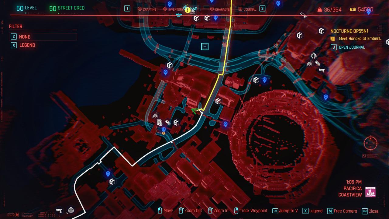 Cyberpunk 2077 Daemon In The Shell Achievement - No Crafting