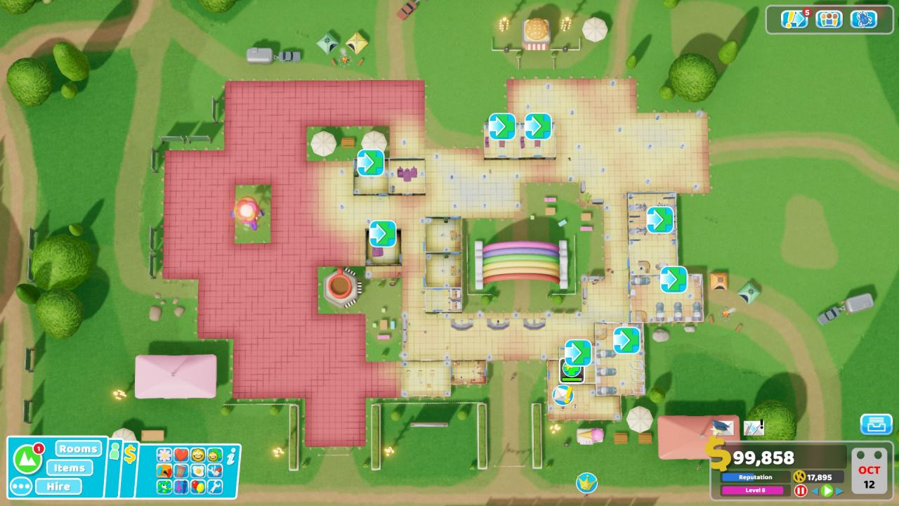 Two Point Hospital How to Get 3 Stars Mudbury Festival